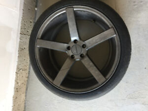 "Tyres Audi with Rims 19"" and 20"" New"