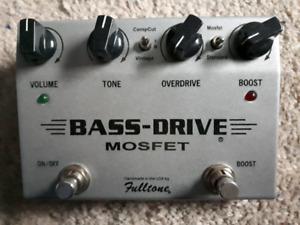 Fulltone Mosfet BASS-DRIVE pedal