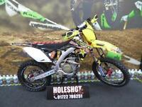 Suzuki RMZ 250 Motocross bike Full ohllins suspension