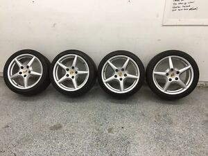 Porsche wheels Carrera III and tires