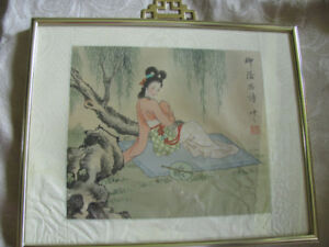 Tiny Chinese painting