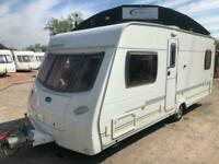 2006 Lunar Lexon EB 4 berth fixed bed Caravan
