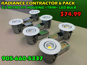 POT LIGHTS / LED BULBS / ELECTRICAL SUPPLIES BLOWOUT PRICES!!