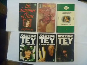 Josephine Tey Paperbacks ansd HCs - several to choose from