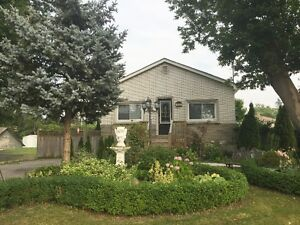 Excellent Detached Bungalow in Prime Mississauga for Rent