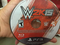 Wwe 2k15 for PS3