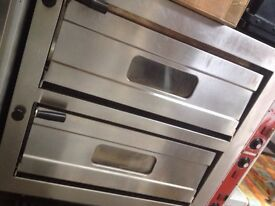 Pizza oven/ double deck (used)