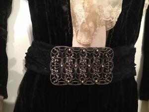 Antique Black White Lace Rare Dress Display Designer Old Fashion Oakville / Halton Region Toronto (GTA) image 4
