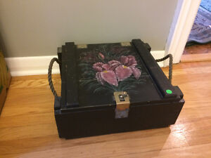 Painted Ammo Box
