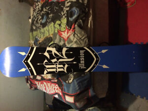 Brand new k2 illusion board and northwave boots