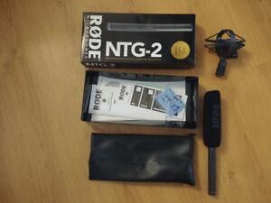 Like New - Rode NTG 2 shotgun Microphone