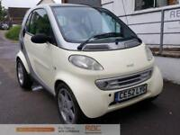 SMART CITY-COUPE PULSE SOFTOUCH (RHD) Yellow Auto Petrol, 2002
