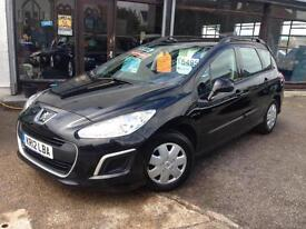 2012 (12) Peugeot 308 SW 1.6e-HDi ( s/s ) EGC Access (Finance Available)