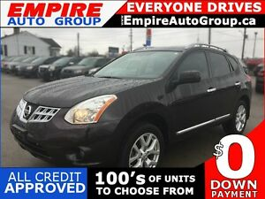 2013 NISSAN ROGUE SV * AWD * NAV * REAR CAM * SUNROOF * LOW KM