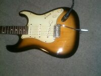 STRATOCASTER FENDER ALL PARTS MF CASH OU TRADE-ECHANGE
