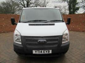 FORD TRANSIT 350 DOUBLECAB ONE WAY TIPPER LWB 125 BHP ONE STOP TOOL BOX 3 SEATS