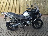 Immaculate BMW R1200 GS Adventure Triple Black with over £4,500 of BMW extras. REDUCED.