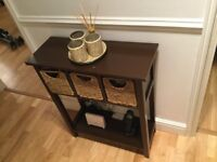 Beautiful wooden hall storage table with drawers