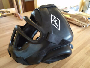 Sparring Headgear with Face Cage/Mask/Shield