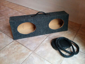 Car Auto Speaker Cabinet Trunk Coffre Stereo 6X9