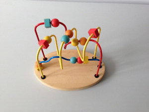 HIGH QUALITY WOODEN BEAD MAZE TOY FOR BABIES AND TODDLERS
