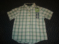 Boys Size 5 Short Sleeve Dress Shirt by West Coast Connection