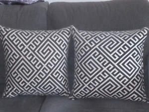 Pair of cushions