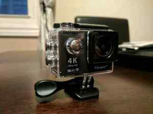 Vikeepro 4K Action Camera with many accessories