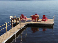 boat lifts and light aluminum/cedar pole docks TAX FREE!!!!