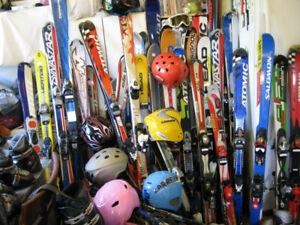 Grande Quantité de Ski Alpin,Botte Ski,Pôle,Planche,Patin glace