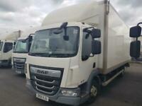 DAF TRUCKS LF180-75 24ft box van ex furniture contract 1 LEFT *