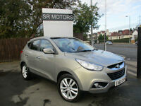 2010 Hyundai ix35 2.0CRDi 16v ( 2WD ) Premium(PANROOF,HALF LEATHER SEATS)