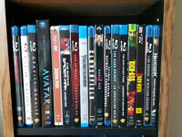 Lot of 90 Blu-Ray Movies - Excellent Condition