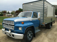 1989 Ford F-600 Pressure wash and steam, complete revamp