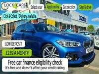 2017 BMW 1 Series 2.0 118D M SPORT 5d STEP AUTO NAV LEATHER Hatchback Diesel Aut