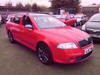 SKODA OCTAVIA 2.0 VRS 170 TDI 6 SPEED ESTATE 2008 / CAMBELT DONE / FULL SERVICE HISTORY 12 MONTH MOT