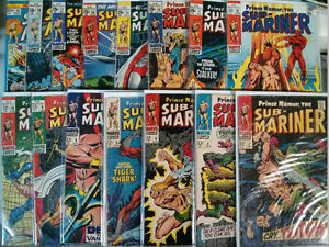 Prince Namor, The Sub-Mariner lot of 15 comics