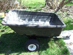 Agri-Fab Utility Poly Cart- $95