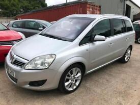 Vauxhalll Zafira 1.9CDTi ( 150ps ) Elite 7 SEATER DIESEL MPV ONLY 88,000 MILES