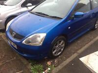 2004 Honda Civic 1.6i VTEC SE 3 DOOR HATCH