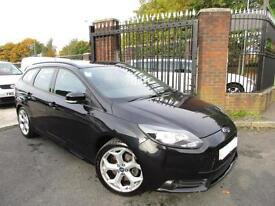 Ford Focus 2.0T ( 250ps ) 2013MY ST 1 OWNER EX POLICE FSH LOW MILES UNDER COVER