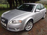 Audi A4 automatic silver full service mot prime example £2695