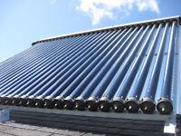 Solar hot water installation helper