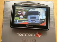 TomTom GO 730 HGV + LATEST Europe TRUCK map v976! Perfect, up-to-date October 2016!,