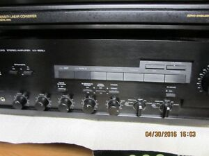 HOME STERO SYSTEM-AMP SOLD!!-WILL SELL REMAINDER FOR $150.00 London Ontario image 3