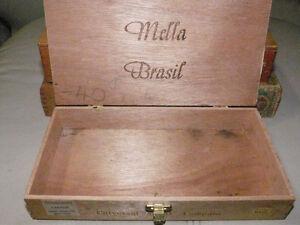 Three Wooden Cigar Boxes Kitchener / Waterloo Kitchener Area image 6