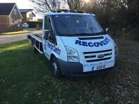 Ford Transit recovery 2002