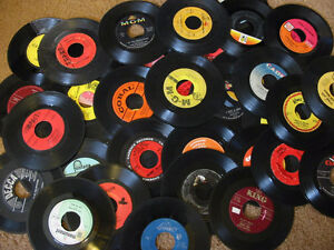 VINYL 45 R.P.M. 7 inch RECORD COLLECTION FOR SALE