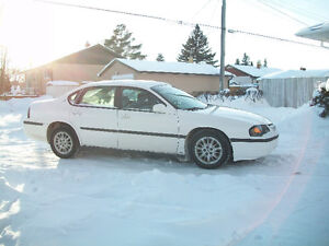 2002 Chevrolet Impala 4 Door Automatic Safetied Private Sale