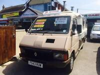 Renault TRAFIC AS CAMPER Diesel 12 Months Mot No Advisorys Taken Back In P/X